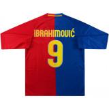 Barcelona 2008/2009 Home Retro L/S Jersey #9 Ibrahimović