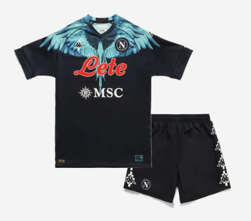 SSC Napoli 20/21 Special Jersey and Short Kit