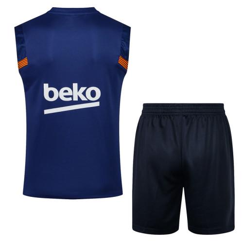 Barcelona 20/21 Sleeveless Training Kit D564#