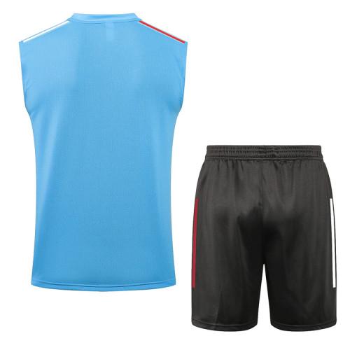 Real Madrid 20/21 Sleeveless Training Kit D574#