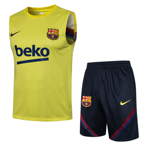 Barcelona 20/21 Sleeveless Training Kit D566#