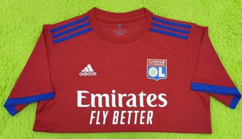 Thai Version Olympique Lyonnais 21/22 Away Jersey - Leaked Edition