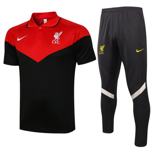 Liverpool 21/22 Pre-Match Polo Kit C632#