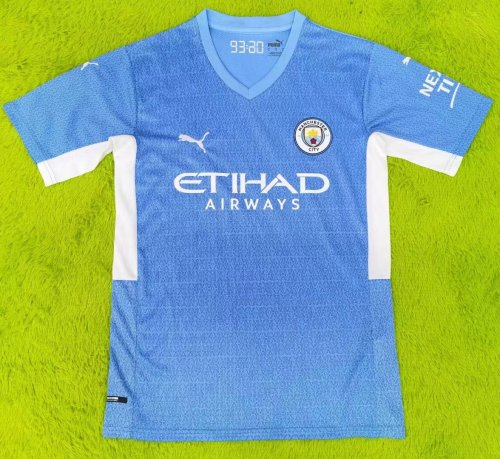 Thai Version Manchester City 21/22 Home Jersey - Leaked Edition