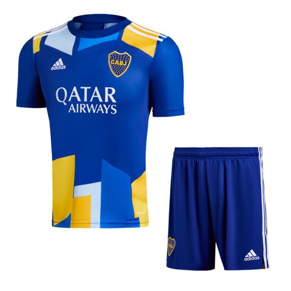 Boca Juniors 2021 Third Soccer Jersey and Short Kit