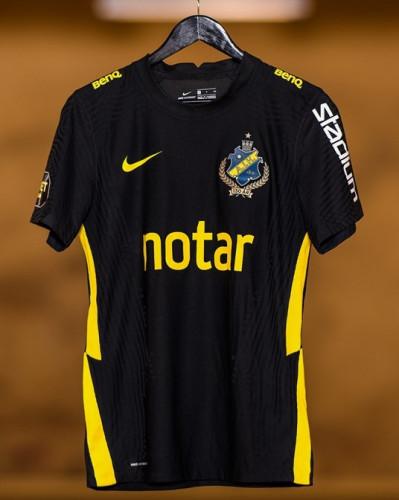 Thai Version AIK 2021 Home Soccer Jersey