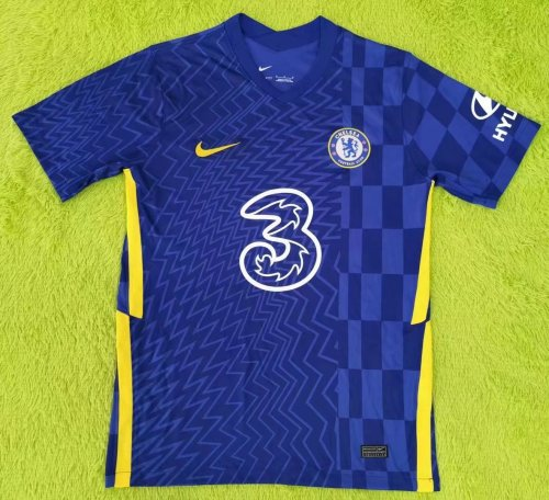 Thai Version Chelsea 21/22 Home Soccer Jersey