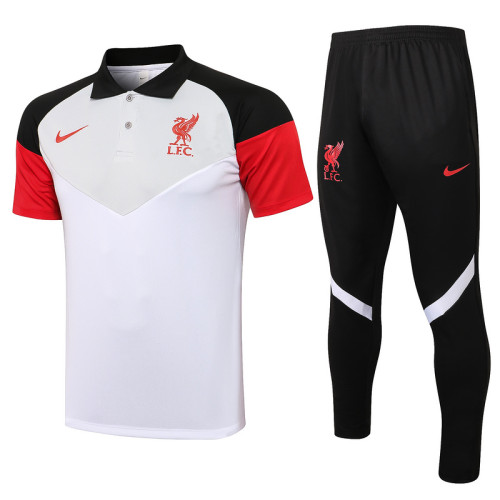 Liverpool 21/22 Pre-Match Polo Kit C653#