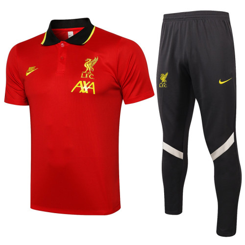 Liverpool 21/22 Pre-Match Polo Kit C633#