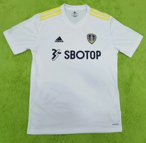 Thai Version Leeds United 21/22 Home Jersey - Leaked Edition