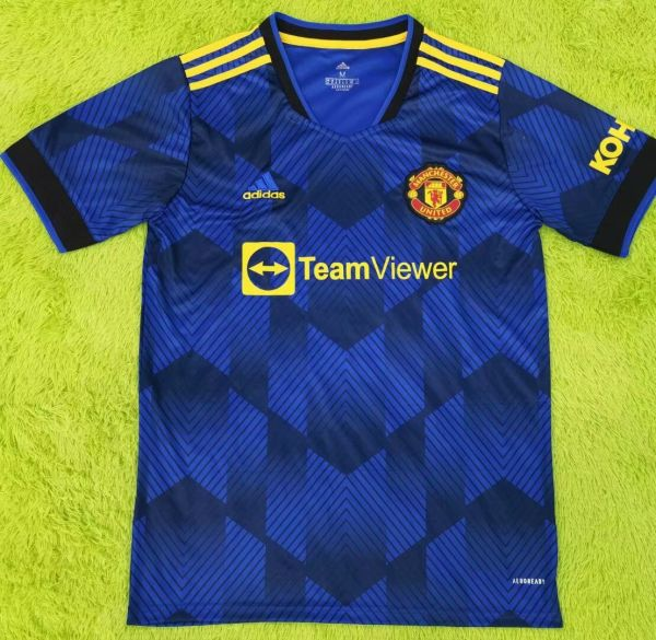 Thai Version Manchester United 21/22 Third Jersey - Leaked Edition