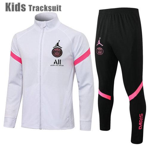 Kids Paris Saint-Germain 21/22 Jacket Tracksuit E516#