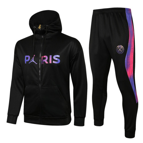 Paris Saint-Germain 21/22 Full-Zip Hoodie Tracksuit F304#
