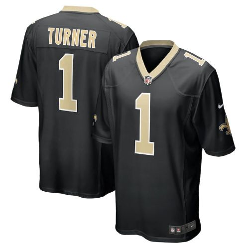 Youth Payton Turner Black 2021 Draft First Round Pick Player Limited Team Jersey