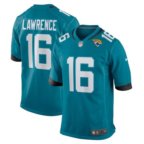 Youth Trevor Lawrence Teal 2021 Draft First Round Pick Player Limited Team Jersey
