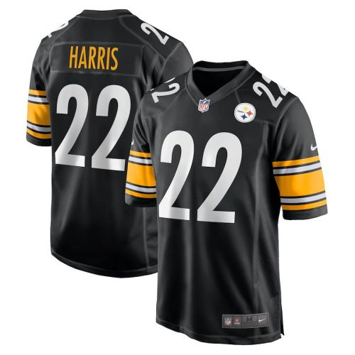 Youth Najee Harris Black 2021 Draft First Round Pick Player Limited Team Jersey