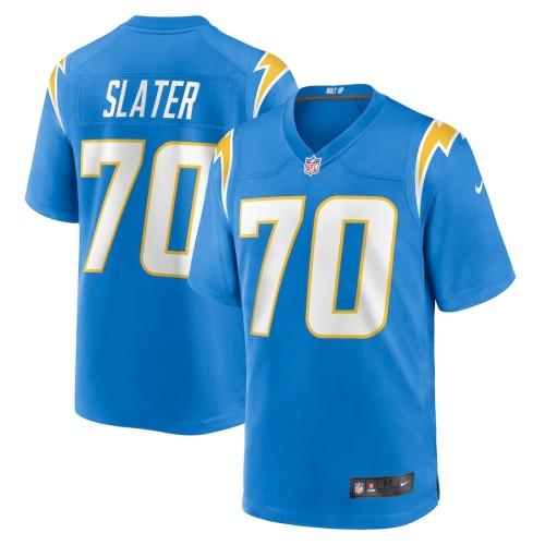 Youth Rashawn Slater Powder Blue 2021 Draft First Round Pick Player Limited Team Jersey