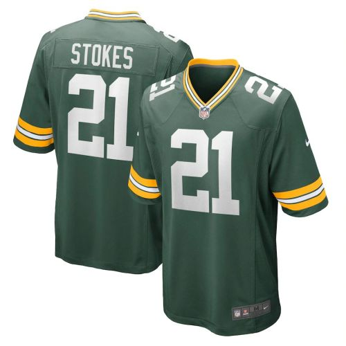 Youth Eric Stokes Green 2021 Draft First Round Pick Player Limited Team Jersey