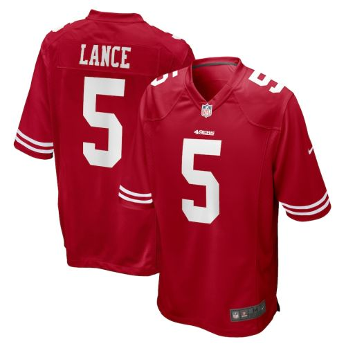 Youth Trey Lance Scarlet 2021 Draft First Round Pick Player Limited Team Jersey