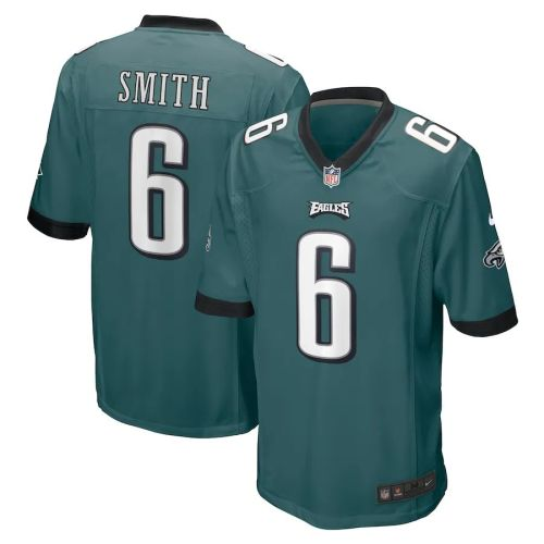 Youth DeVonta Smith Midnight Green 2021 Draft First Round Pick Player Limited Team Jersey