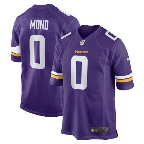 Youth Kellen Mond Purple 2021 Draft Pick Player Limited Team Jersey