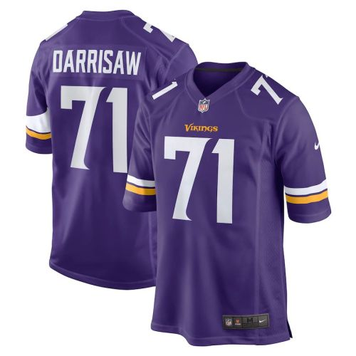 Youth Christian Darrisaw Purple 2021 Draft First Round Pick Player Limited Team Jersey