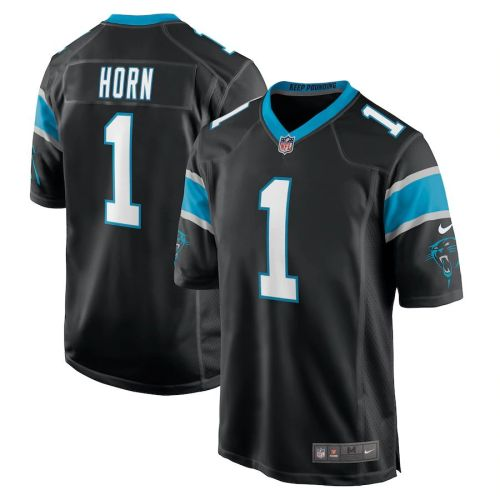 Youth Jaycee Horn Black 2021 Draft First Round Pick Player Limited Team Jersey