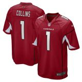 Youth Zaven Collins Cardinal 2021 Draft First Round Pick No. 16 Player Limited Team Jersey