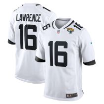 Youth Trevor Lawrence White 2021 Draft First Round Pick Player Limited Team Jersey