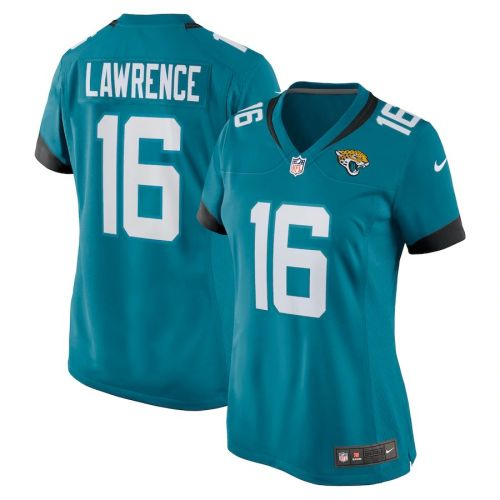 Women's Trevor Lawrence Teal 2021 Draft First Round Pick Player Limited Team Jersey