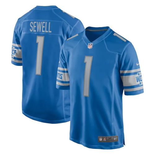 Youth Penei Sewell Blue 2021 Draft First Round Pick Player Limited Team Jersey