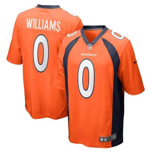 Youth Javonte Williams Orange 2021 Draft Pick Player Limited Team Jersey