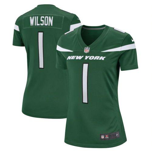Women's Zach Wilson Gotham Green 2021 Draft First Round Pick Player Limited Team Jersey