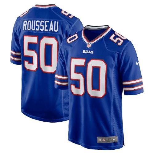Youth Gregory Rousseau Royal 2021 Draft First Round Pick Player Limited Team Jersey