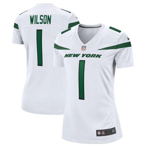 Women's Zach Wilson White 2021 Draft First Round Pick Player Limited Team Jersey