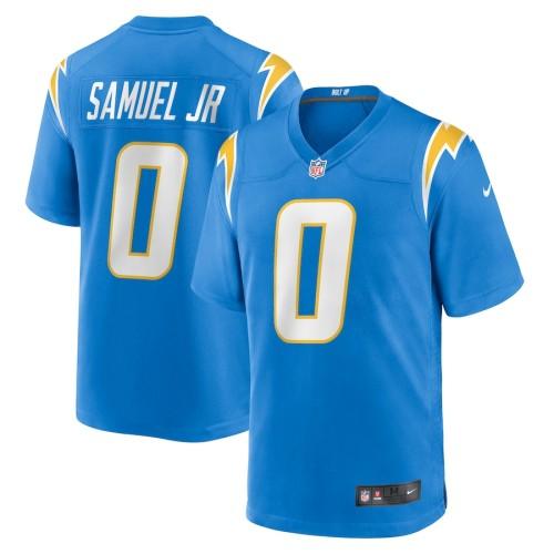 Youth Asante Samuel Jr. Powder Blue 2021 Draft Pick Player Limited Team Jersey