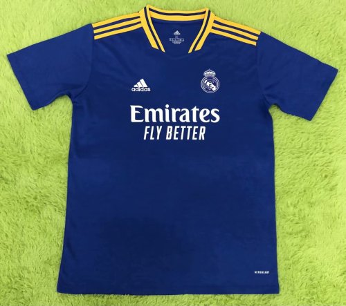 Thai Version Real Madrid 21/22 Away Jersey - Leaked Edition