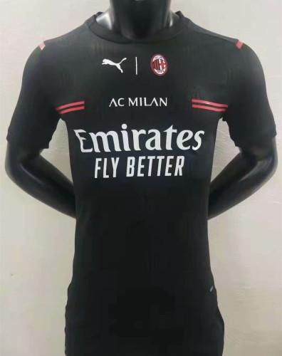Player Version AC Milan 21/22 Third Authentic Jersey
