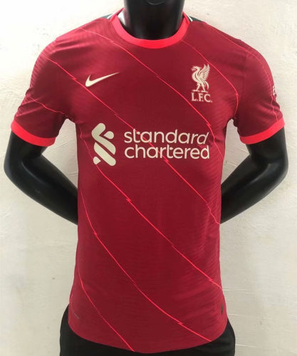 Player Version Liverpool 21/22 Home Authentic Jersey