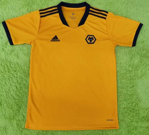 Thai Version Wolverhampton Wanderers 21/22 Home Jersey - Leaked Edition