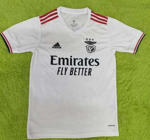 Thai Version Benfica 21/22 Away Soccer Jersey (With Sponsors)