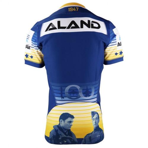 Parramatta Eels 2021 Men's Rugby Anzac Jersey