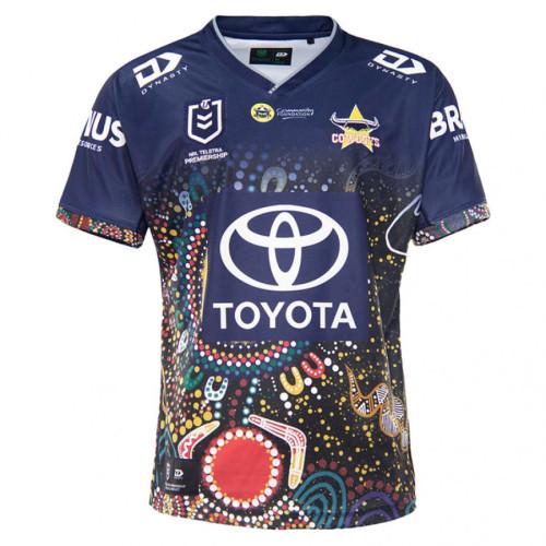 North Queensland Cowboys 2021 Men's Indigenous Rugby Jersey