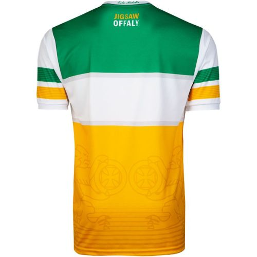Offaly GAA 2-Stripe Men's Home Jersey