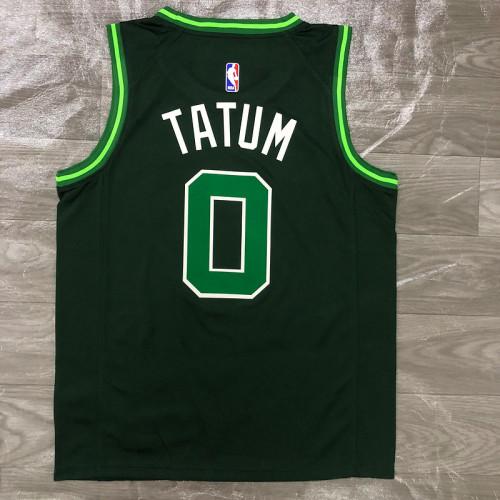 Thai Version Men's Jayson Tatum Green 2020-21 Swingman Player Jersey – Earned Edition