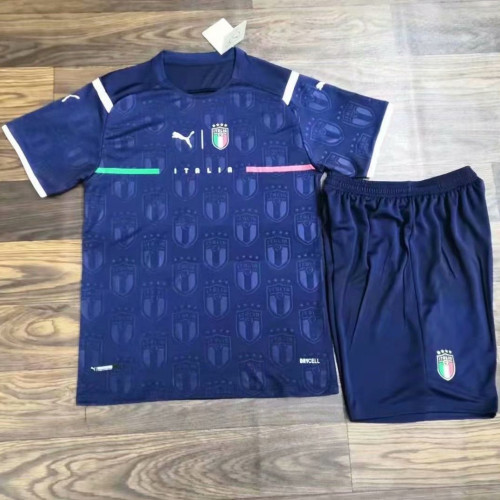Italy 21/22 Goalkeeper Jersey and Short Kit