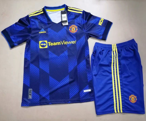 Manchester United 21/22 Third Jersey and Short Kit