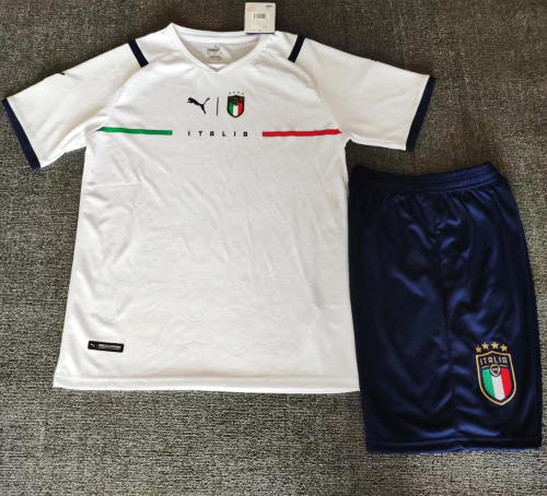 Italy 21/22 Away Jersey and Short Kit