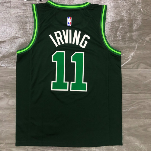 Thai Version Men's Kyrie Irving Green 2020-21 Swingman Player Jersey – Earned Edition