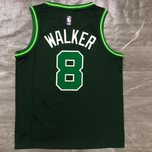 Thai Version Men's Kemba Walker Green 2020-21 Swingman Player Jersey – Earned Edition